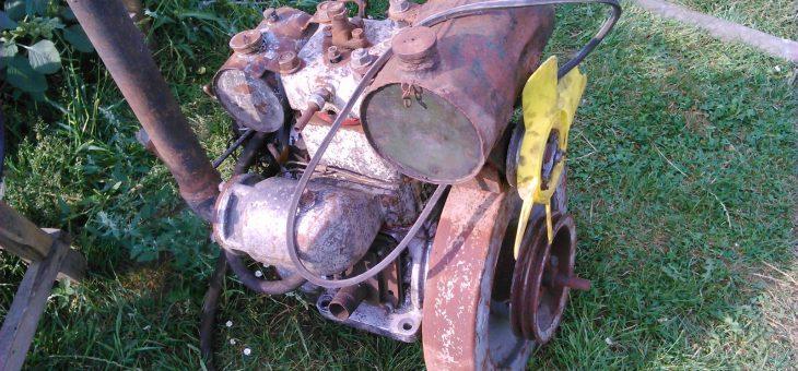 Silnik 1DR 10/14 Puckie Zakłady Mechaniczne 1974r.