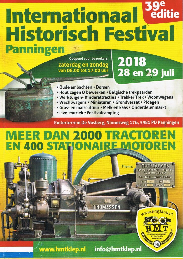 Book Cover: International Historisch Festival Panningen 2018