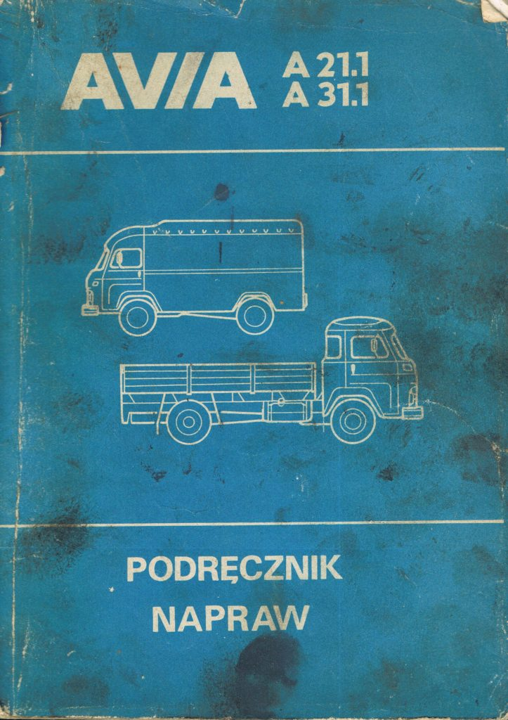 Book Cover: Avia A21.1 A31.1 podręcznik napraw