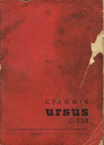 Book Cover: Kołowy ciągnik Ursus C-328 instrukcja obsługi i katalog części