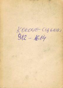 Book Cover: Kołowe ciągniki rolnicze Ursus 912, 914, 1012, 1014, 1222, 1224, 1614 instrukcja obsługi