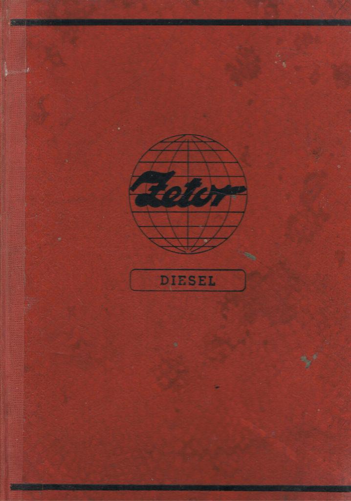 Book Cover: Katalog części zamiennych do ciągników Zetor 25, Zetor 25A i Zetor 25K