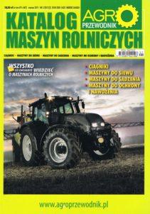 Book Cover: Katalog maszyn rolniczych Agro Przewodnik marzec 2011