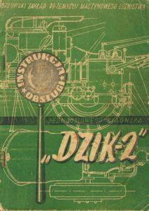 Book Cover: Instrukcja obsługi jednoosiowego ciągnika Dzik 2