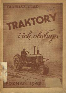 Book Cover: Traktor i ich obsługa T. Clar