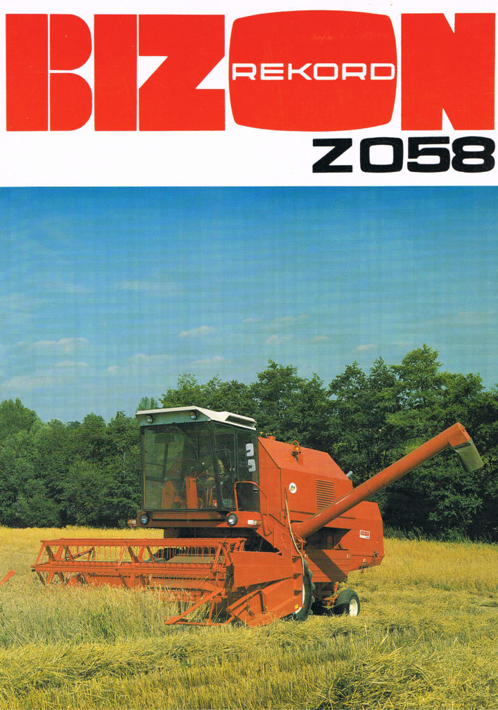 Book Cover: Bizon Rekord Z058