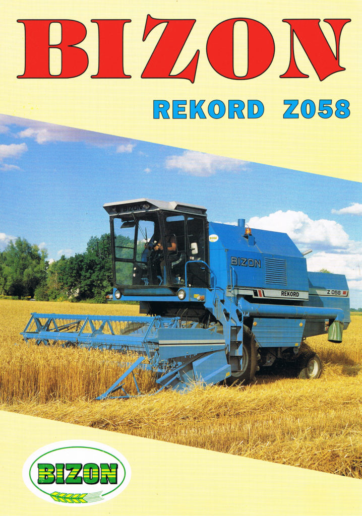Book Cover: Bizon Rekord Z058