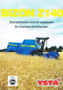 Book Cover: Bizon Z140
