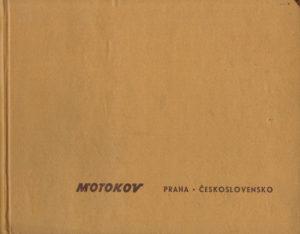 Book Cover: Motokov Praha Ceskoslovensko