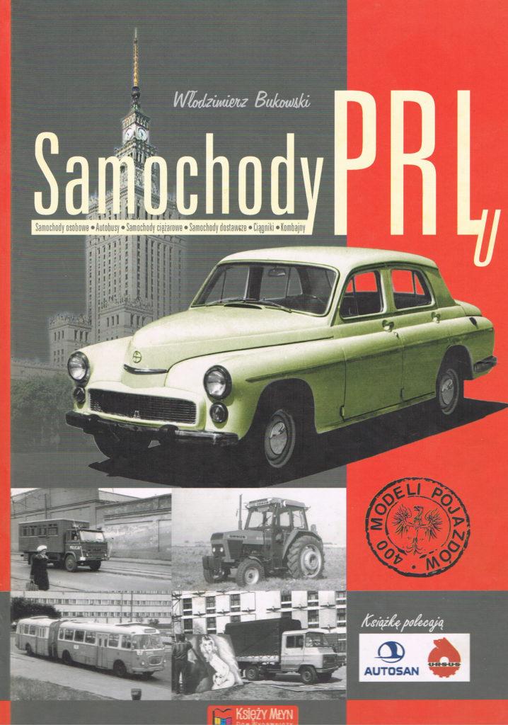 Book Cover: Samochody PRLu W. Bukowski