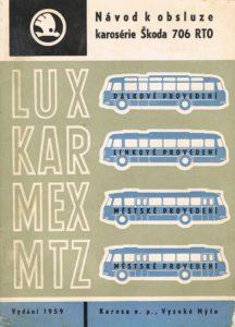 Book Cover: Navod k obsluze karoserie Skoda 706 RTO