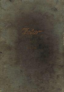Book Cover: Spare parts katalogue for tractors Zetor 25, Zetor 25A, Zetor 25K