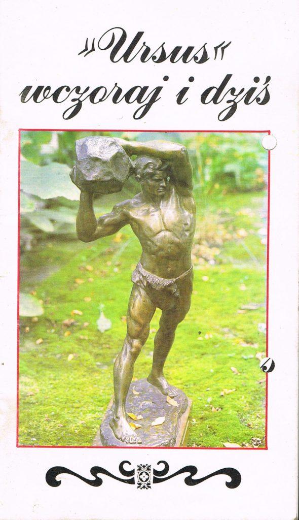 Book Cover: Ursus wczoraj i dziś