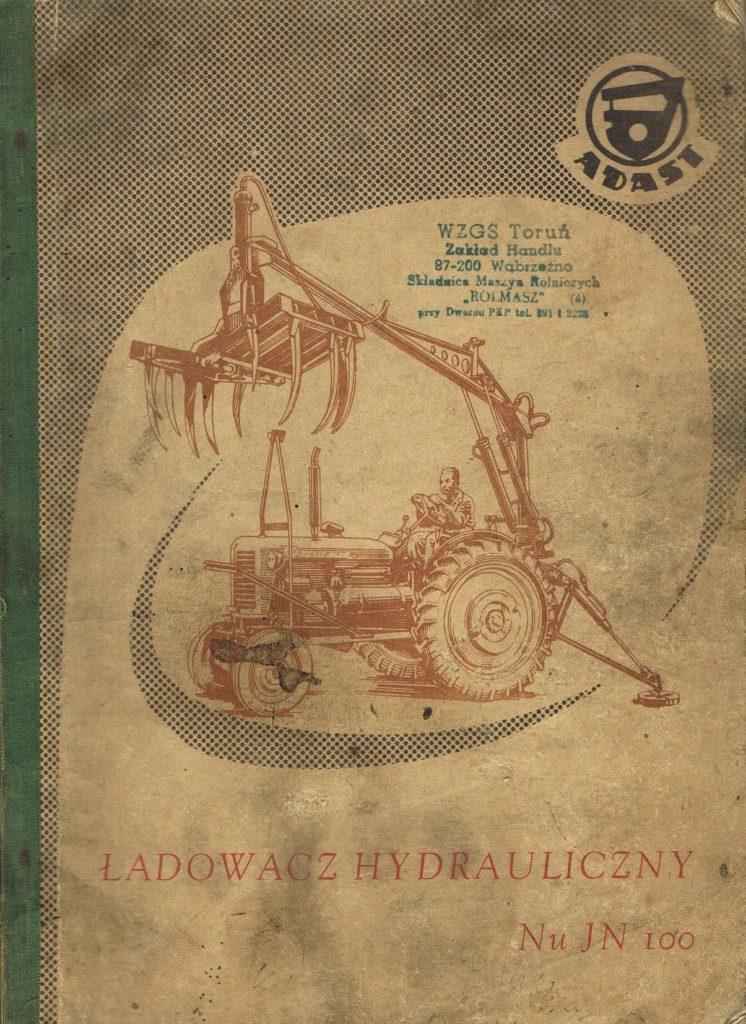 Book Cover: Ładowacz obornika NuJN 100 katalog części zamiennych