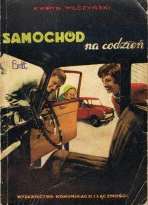 Book Cover: Samochód na codzień K. Wilczyński