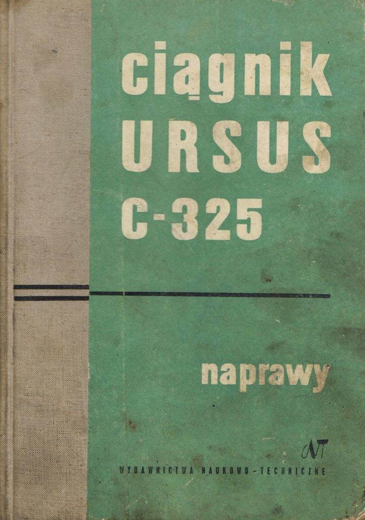 Book Cover: Ciągnik Ursus C-325 naprawy