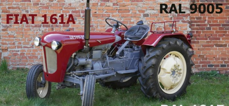 Kolorystyka naszych traktorów i maszyn